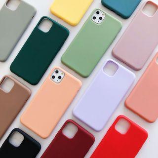 Wild Pony - 纯色手机保护壳 - iPhone 11 Pro Max / 11 Pro / 11 / XS Max / XS / XR / X / 8 / 8 Plus / 7 / 7 Plus / 6s / 6s Plus