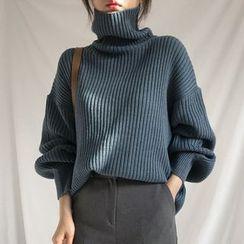 Kokuko - 高領毛衣