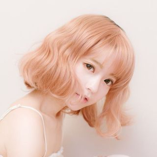 Jellyfish - 短款假髮 - 波浪
