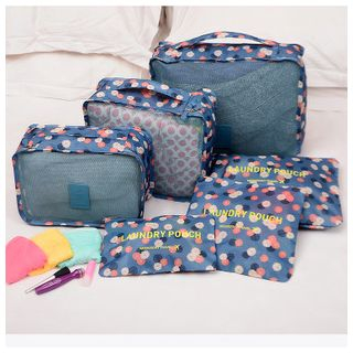 Evorest Bags - Set of 6: Travel Packing Cubes