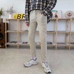 匡亿 - 窄身牛仔裤
