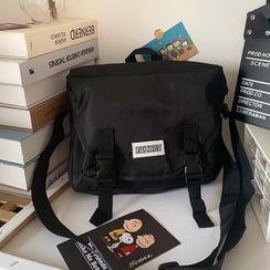 Caraket - Buckled Nylon Messenger Bag