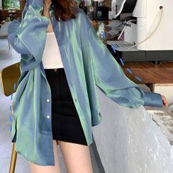 JOWI - 纯色衬衫