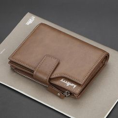 BagBuzz(バッグバズ) - Faux Leather Trifold Wallet