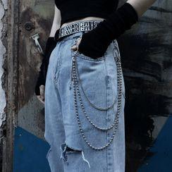 Malnia Home - 3 Layered Metal Pants Chain