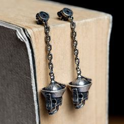 Andante - 925 Sterling Silver Zombie Dangle Earring