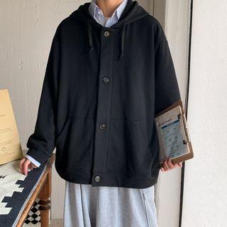 Dukakis - Hood Button-Up Jacket