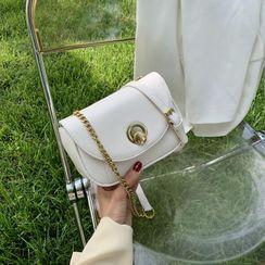 Cipres - Chain Strap Flap Crossbody Bag