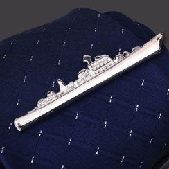 Seaton - Ship Alloy Tie Clip
