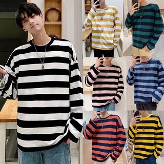 Acrius - Striped Long-Sleeve T-Shirt