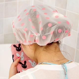 MyHome - Gorro de ducha con estampado de lunares