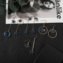Coolgirl - Moon & Star Drop Earring (Various Designs)
