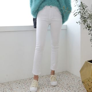 DANI LOVE - Cropped Straight Leg Pants