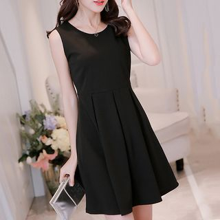Fashion Street - Sleeveless A-Line Mini Dress