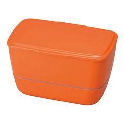 Hakoya - Hakoya gb Cool Bento 2 Layers Lunch Box Valencia Orange
