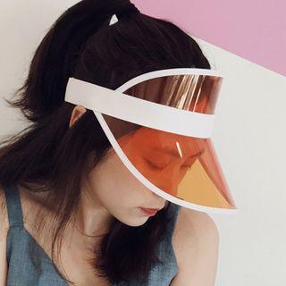 Pompabee - Transparent Visor Hat