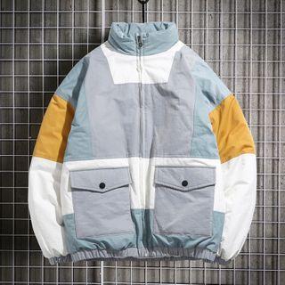 Sherina - Color Block Zip Jacket