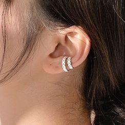 DeerMe - Layered Alloy Cuff Earring