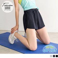 OrangeBear - Drawstring Active Shorts