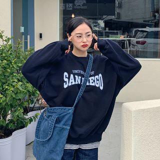 HOTPING - 'SAN DIEGO' Embroidery Sweatshirt