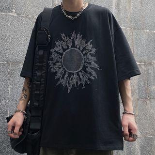 2DAWGS - 印花中袖T裇