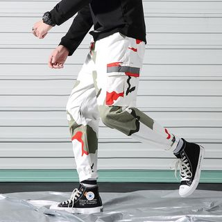 Andrei - Camouflage Cargo Pants