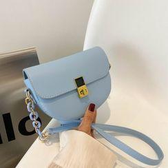 Shimme - Flap Acrylic Chain Crossbody Bag