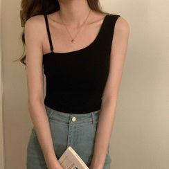 Miss Bearie - Asymmetrical Camisole Top