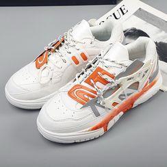 MARTUCCI - 系带厚底休閒鞋