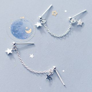 A'ROCH(エーロック) - 925 Sterling Silver Star Earring