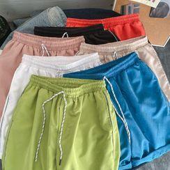 百高 - 寬腿運動短褲