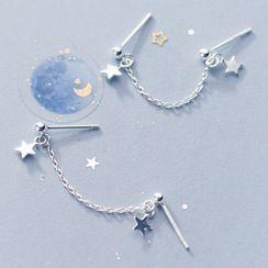 A'ROCH - 925 Sterling Silver Star Earring