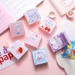 Chimi Chimi - 卡通印花隱形眼鏡盒
