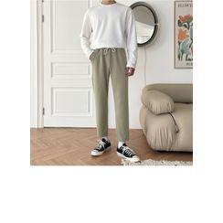 JOGUNSHOP - Drawstring Tapered Pants