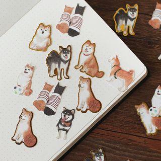 Homey House - Dog Print Sticker
