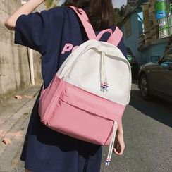 Youme - Lightweight Color Block Backpack