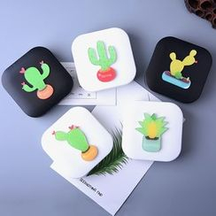 KAZZED - Cactus Print Contact Lens Case