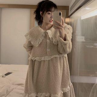 Duwnie - Fluffy Pajama Dress
