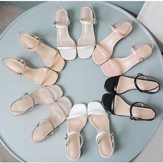 Freesia - Block-Heel Sandals