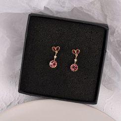 True Glam - Bead Drop Earring