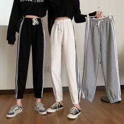 Themis - Striped Sweatpants