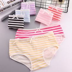 Sayaka - Striped Panties