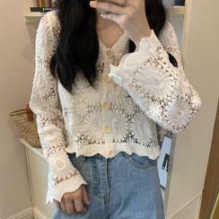 Shopherd - Crochet Knit Cardigan