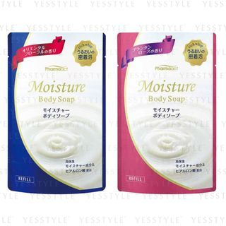 KUMANO COSME - Pharmaact Moisture Body Soap Refill 400ml - 2 Types
