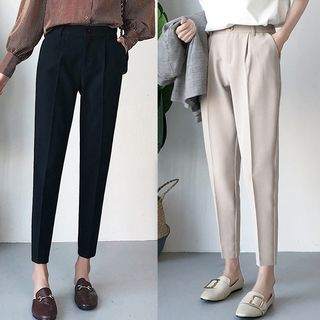 Happo - Crop Dress Pants