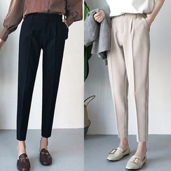 Happo - Crop Dress Pants