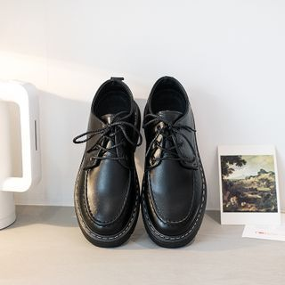 VEAZ - Lace-Up Loafers