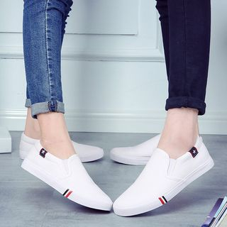 Solejoy - Canvas Couple Slip-Ons