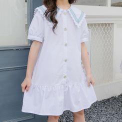 Chisy - Kids Short-Sleeve A-Line Dress
