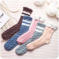 Chimi Chimi - 珊瑚絨襪子